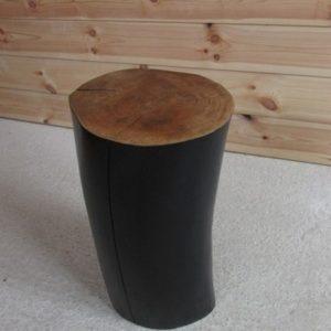 decoration billot de bois orme creation crea broc and co loft vue de face