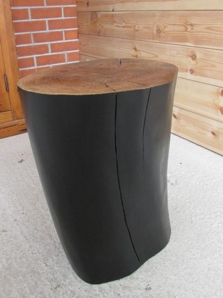 billot de bois en Orme - création Créa Broc and Co