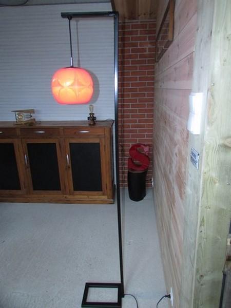 luminaire decoration industrielle lampadaire creation crea broc and co vue de cote