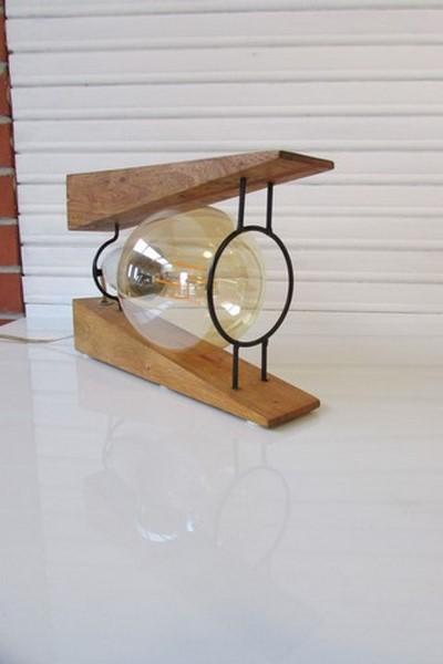 luminaire decoration creation crea broc and co bois et metal