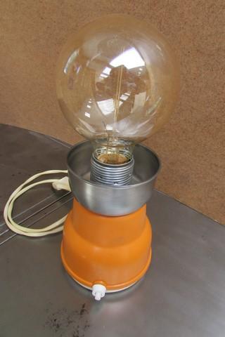 lampe moulin a cafe moulinex annee creation Crea Broc and Co vue de dessus