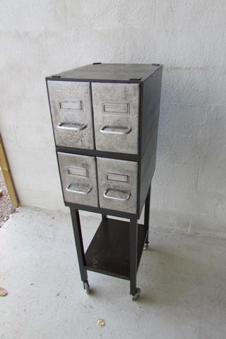 meuble métallique 4 tiroirs
